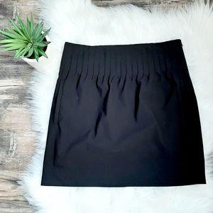 """DVF """"Seira"""" black pintuck mini skirt"""